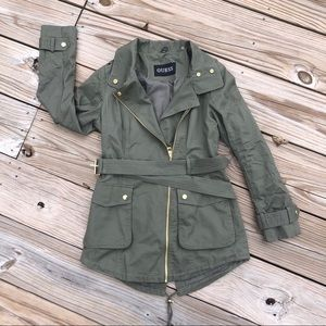 Guess utility side zip jacket